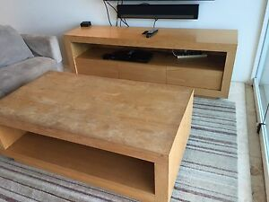 Timber coffee table Noosa Heads Noosa Area Preview