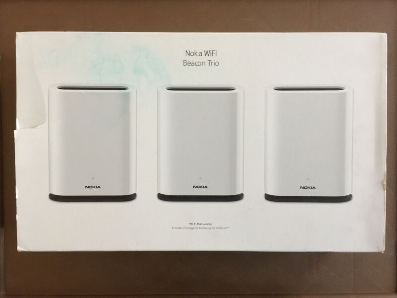Nokia WiFi Beacon 1: High Performance Whole Home Mesh System; 3-Pack