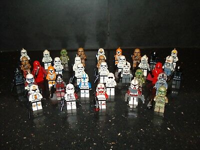 Lego Genuine - Star Wars Clone Troopers / Mini Figure - Multiple Variations!