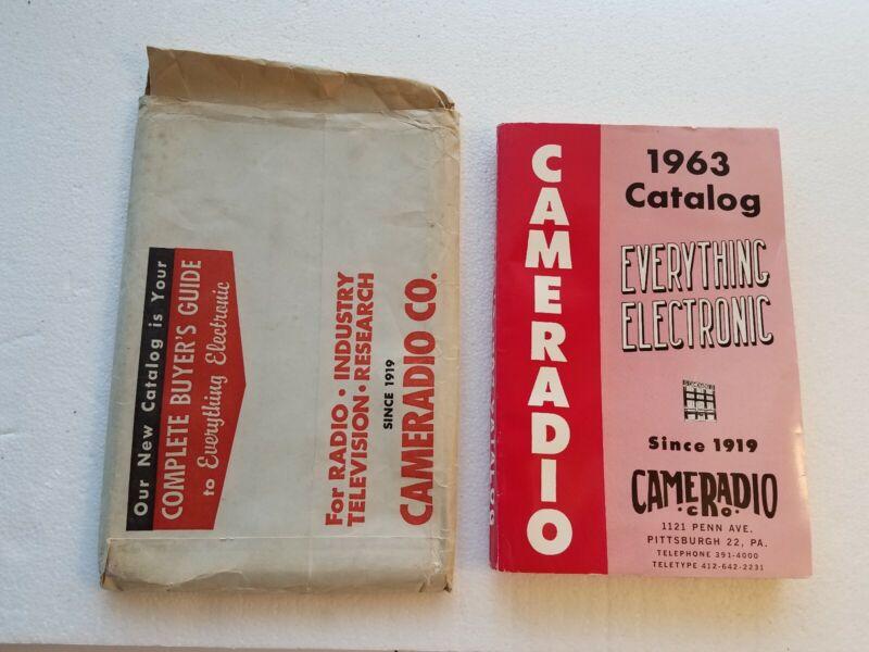 Vintage 1963 Cameradio Electronics Catalog Radios Phonos & More FREE SHIPPING