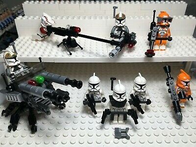 LEGO STAR WARS MINIFIGURE LOT----CLONE TROOPER COMPANY---