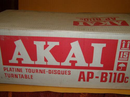 Turnable AKAI  AP-B110c  NEW    never used