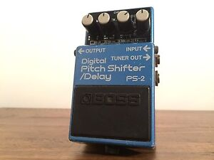 Boss PS-2 Digital Pitch Shifter / Delay - MIJ - Guitar Effect Pedal Everton Park Brisbane North West Preview