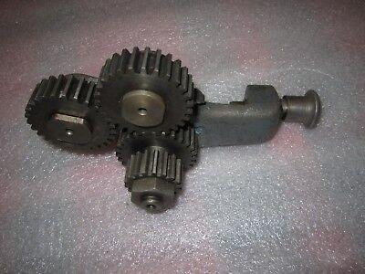 Atlas Clausing 100 4800 4804 Mk3 Metal Lathe Reverse Tumbler Bracket W Gears
