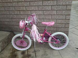 Girl princess bike 16 in