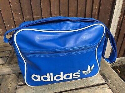 Vintage Adidas Originals Messenger Bag Holdall Shoulder Flight Sport Retro Rare