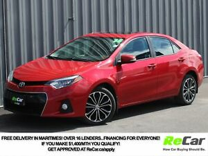 2014 Toyota Corolla S HEATED SEATS | BACK UP CAM | SUNROOF