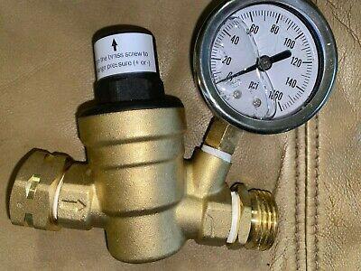 Brass Water Pressure Regulator Valve