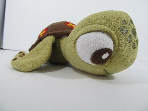 "Disney soapbox Soapsox Budies squirt turtle nemo  baby washcloth plush 8"""