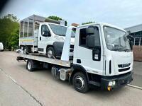 Iveco Eurocargo ML 75E16 Alloy Tilt Slide Recovery Truck 2012/12 Registration