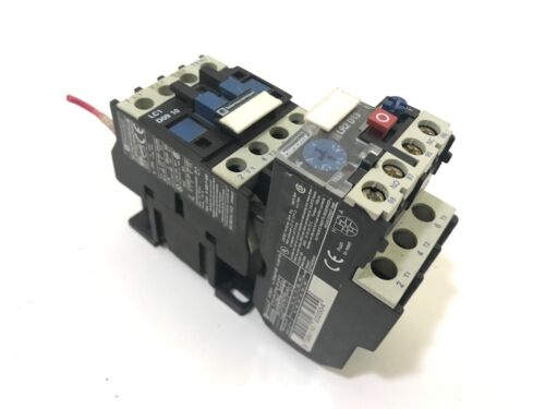 Telemechanique LC1 D09 10 Contactor, with LR2D13 Overload Relay
