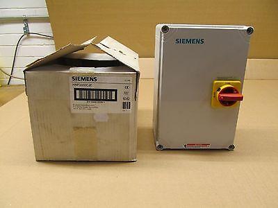 1 Nib Siemens Hnf3100cje Enclosed Rotary Disconnect 100a 480vac 3 Pole