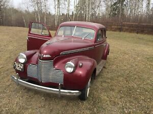 RARE CLASSIC! 1940 Chevrolet Special Deluxe Sedan!