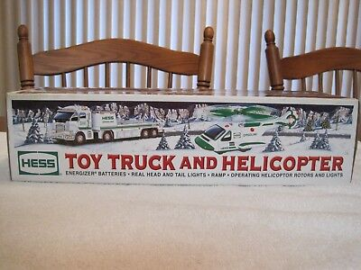 2006 HESS TOY TRUCK & HELICOPTER--NEW
