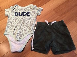 Boys summer clothes size 12 months, 12-18 months and 18 months