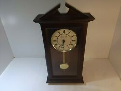 Sterling And Noble Wooden Clock