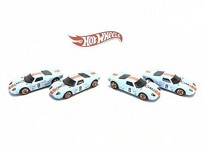 2020 Hot Wheels Ford GT-40 LM Le Mans Gulf Loose Lot Of 4