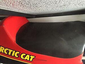 Arctic cat Firecat seat