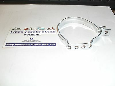 Lambretta tv li scootopia series 1 / 2  chrome cable clamp.