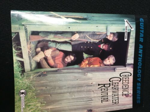 creedence clearwater revival guitar tablature sheet music instruction book