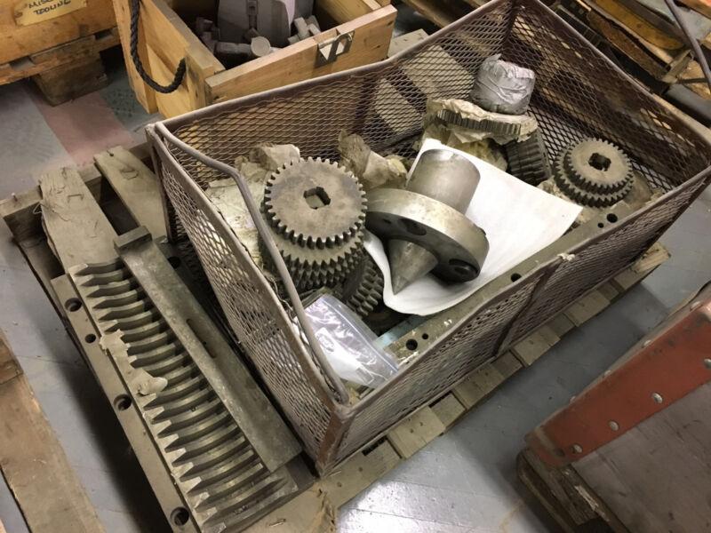 Poreba Tcg Lathe Parts, Tailstock Center, Change Gears, Gibs