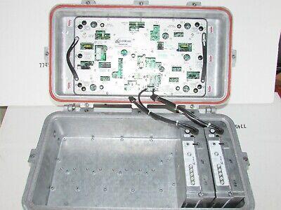 C-COR NAVICOR QUADRANT NODE AMPLIFIER 499.25 MHz NQ25DJTL06C4C1
