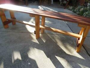 merbau timber benches 1800x300 or 900x300 BRAND NEW