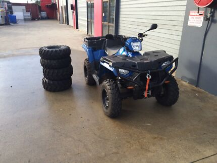 near new 2014 polaris ute 570 HD Cashmere Pine Rivers Area Preview