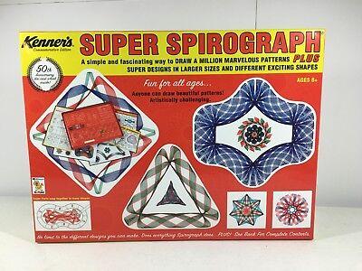 Super Spirograph Commemorative Classic Edition Kenner 50th Anniversary 01049