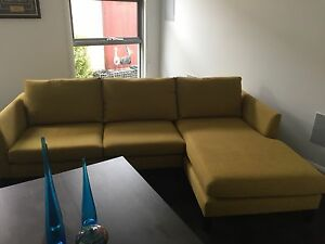 **EXCELLENT CONDITION 4 SEATER MODULAR SOFA WITH R/H CHAISE** Bonner Gungahlin Area Preview