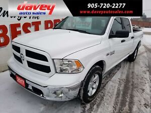 2017 RAM 1500 SLT ONLY 19396 KM!! OUTDOORSMAN PACKAGE
