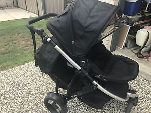 Strider plus double pram Caboolture Caboolture Area Preview