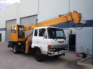 Hydraulic Truck Crane Tadano 7 Tonne Hoppers Crossing Wyndham Area Preview