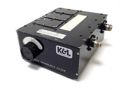 Kl 3tnf-200400-n Tunable Bandreject Notch Filter 200-400 Mhz Type N 50 Ohms