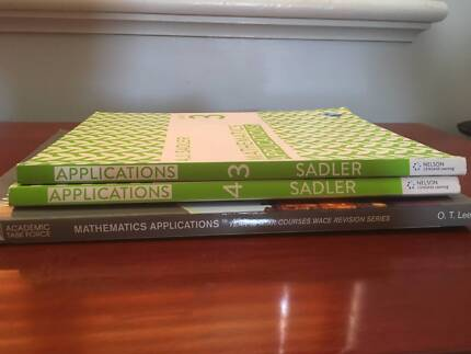 Year 11 and Year 12 course/subject and revision books