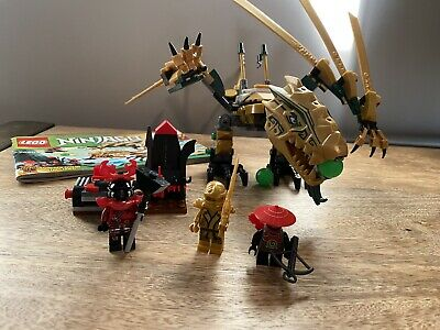 LEGO Ninjago 70503 The Golden Dragon 100% Complete w/Instructions & Minifigures