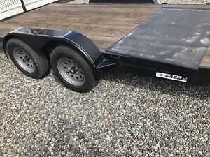 16ft Eagle Flatdeck Car Trailer