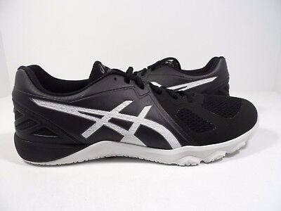 Cross-trainer Schuhe (Asics Herren Conviction X Crosstrainer Schuh Black/White 8.5)