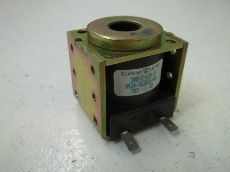 GUARDIAN ELECTRIC A420-065916-00 COIL 120V *USED*