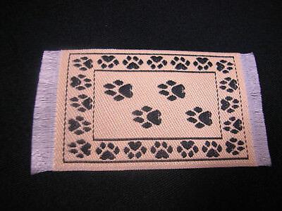 "1.25""x2.5"" #26 Heidi Ott Dollhouse Miniature Floor  Carpet  Woven Rug  #XZ354-26"