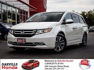 2017 Honda Odyssey Touring 1-Owner|Clean Carproof|Navigation|All