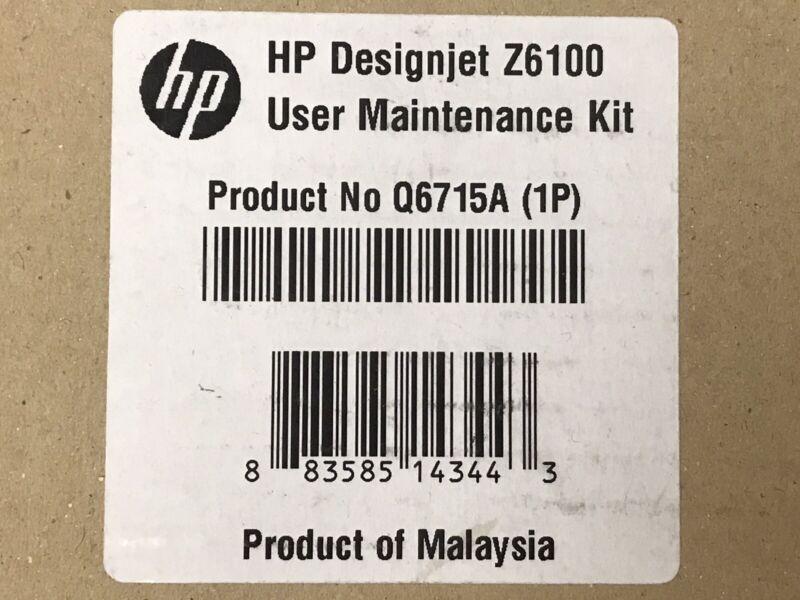 HP Designjet Z6100 User Maintenance Kit - new open box