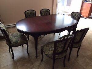 Table antique a vendre