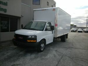 2018 Gmc Savana Cube Van 16' CUBE VAN WITH PULL OUT RAMP