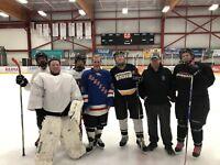 Coed Beginner Hockey Game!