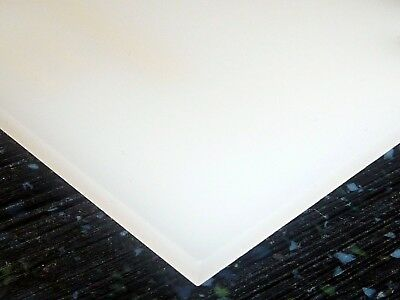 18 3mm Transparent White 8x12 Acrylic Plexiglass Sheet Plastic Board Azm