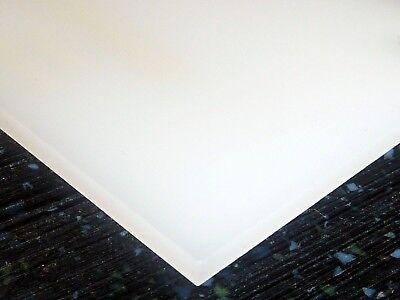 18 3mm Transparent White 8x12 Acrylic Plexiglass Sheet Plastic Board Azm
