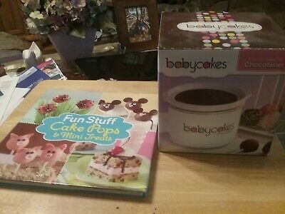 BABYCAKES CHOCOLATIER Cake Pop Treat Dipper 2.5 Cups Stoneware & Fun Stuff Book - Dipper Cake