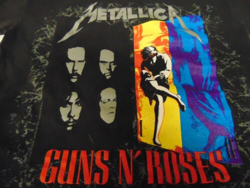 Rock T Shirt ~ METALLICA GUNS N