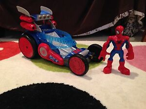 Spider-Man Car and Figure